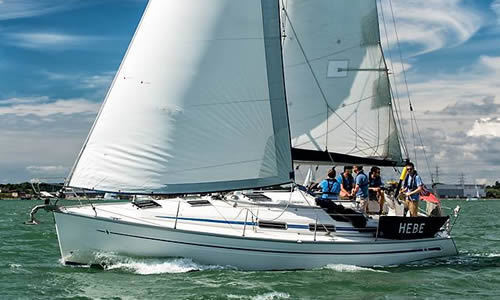 Bavaria 34 For 6 Persons From £489