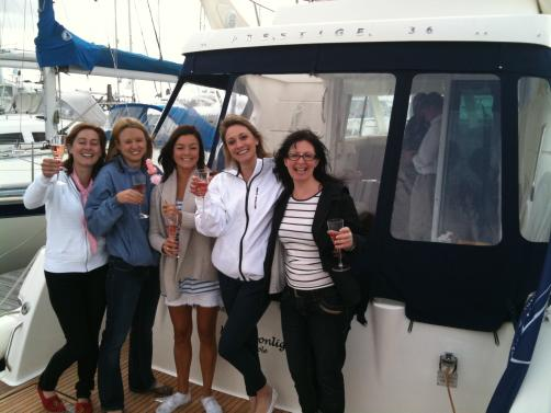Solent Hen Party Yacht Charter