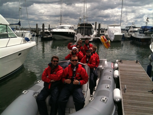 Solent rib stag party charter