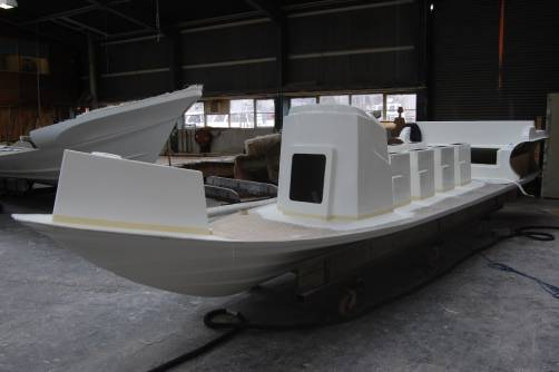 Redbay Stormforce Rib Build