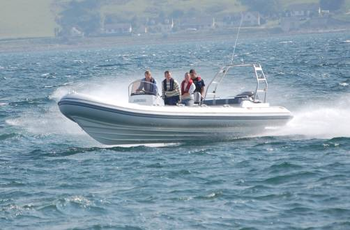 Redbay Stormforce Rib Demonstrator