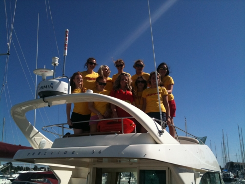 Hen Party Boat